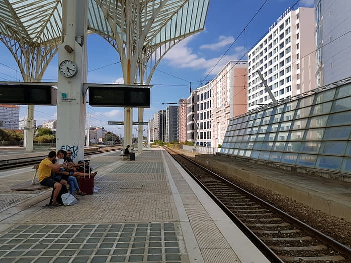Lisbon Oriente train station