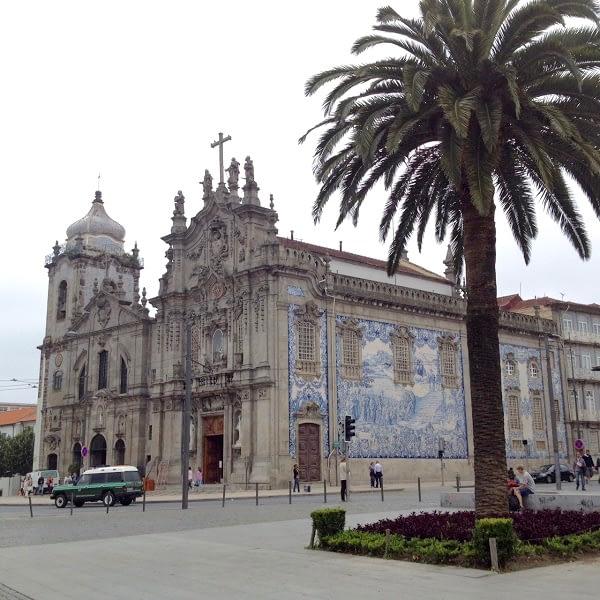 porto tourist cathedrals two days visit ingreja do carmo 1