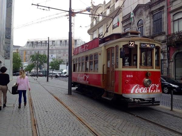porto tourist two days visit tram 1
