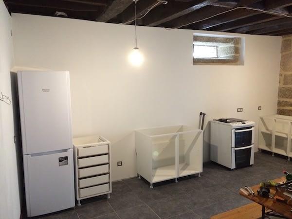 apartment kitchen new wall 4