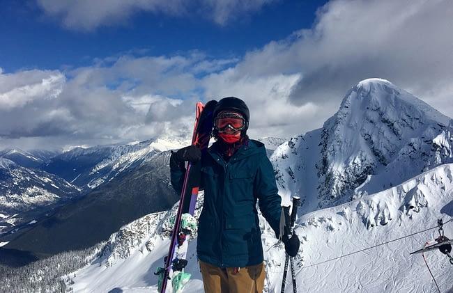 laura skiing canada 1